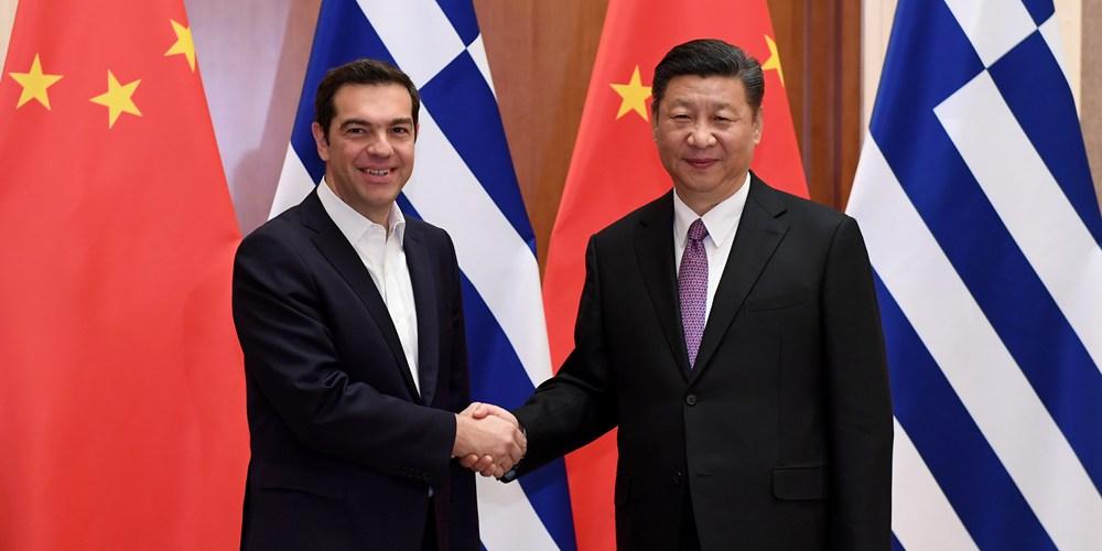 Си Цзиньпин призвал расширять сотрудничество между Китаем и Грецией