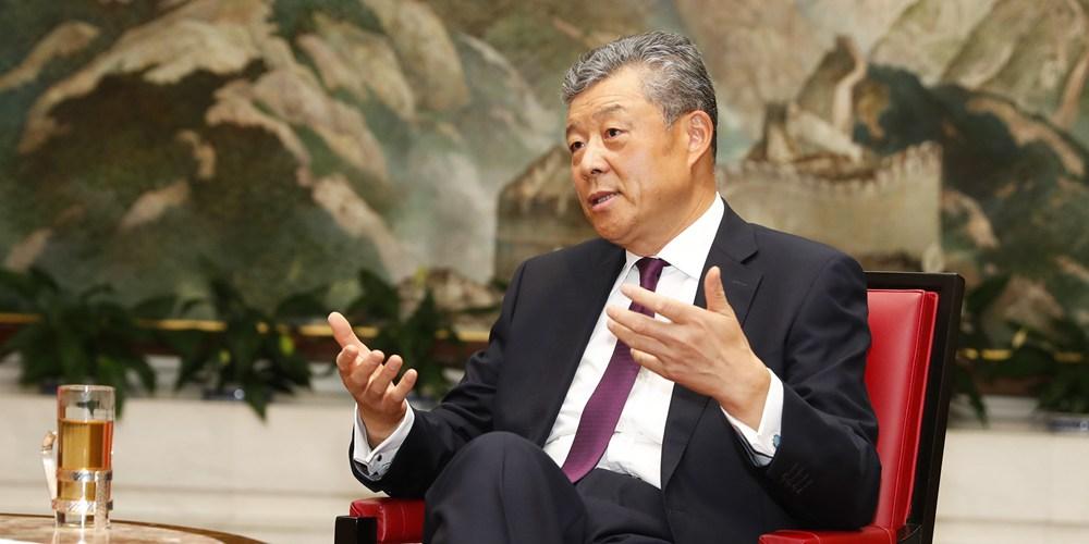 """Эксклюзив: """"Пояс и путь"""" предоставляет """"золотые"""" возможности для сотрудничества между  Китаем и Великобританией -- посол КНР в Великобритании Лю Сяомин"""