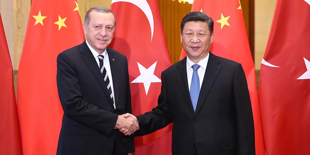 /Пояс и путь/ Си Цзиньпин провел переговоры с президентом Турции Т. Эрдоганом