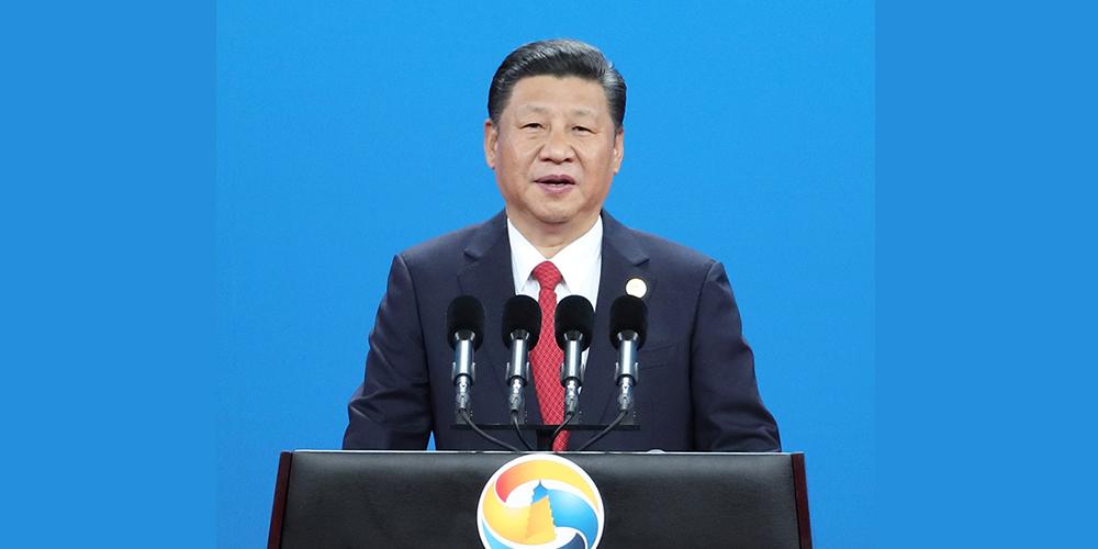 """Си Цзиньпин выступил с программной речью на открытии Форума """"Пояса и пути"""""""
