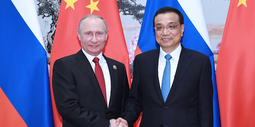 /Пояс и путь/ Состоялась встреча Ли Кэцяна с президентом РФ В.Путиным