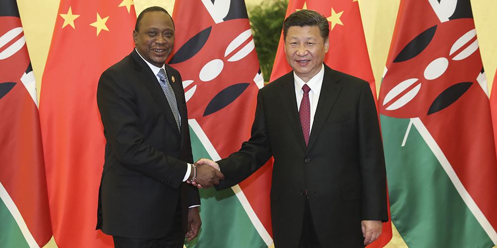 /Пояс и путь/ Си Цзиньпин встретился с президентом Кении