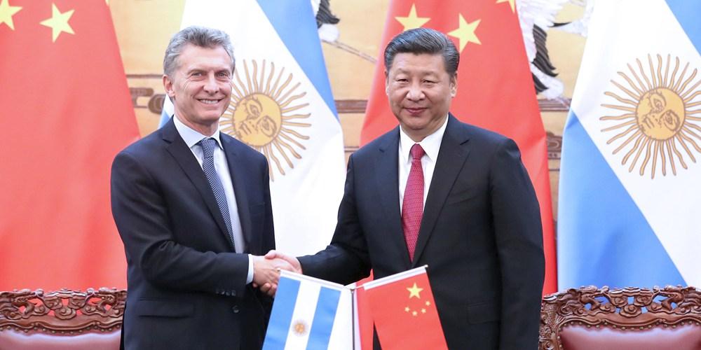 Си Цзиньпин провел переговоры с президентом Аргентины М.Макри