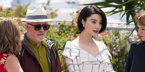 Китайская актриса Фань Бинбин на Международном каннском фестивале