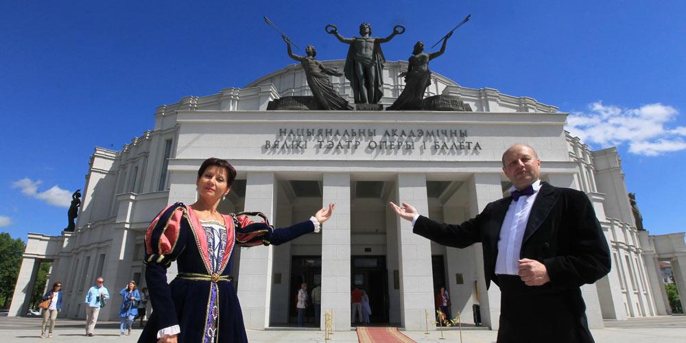 День открытых дверей в белорусском Большом театре