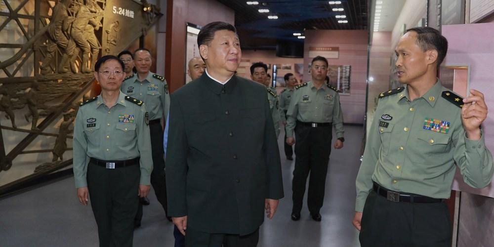 Си Цзиньпин подчеркнул важность укрепления потенциала ракетных запусков и испытаний