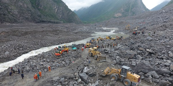 Обнаружены тела 6 погибших в результате оползня на юго-западе Китае