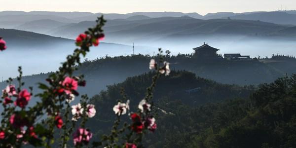Утренний туман в провинции Шэньси