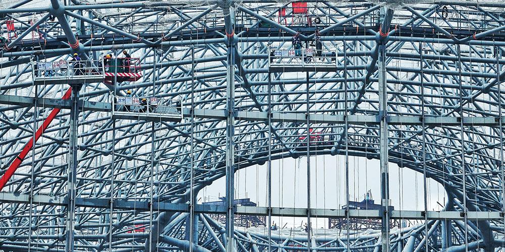 Строительство нового аэропорта в Пекине продолжается