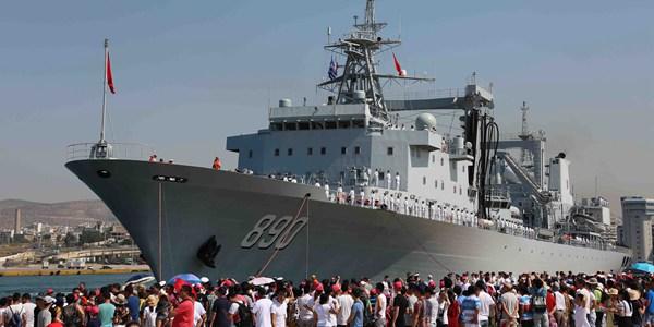 Флотилия дальних плаваний ВМС НОАК прибыла в Грецию с дружественным визитом