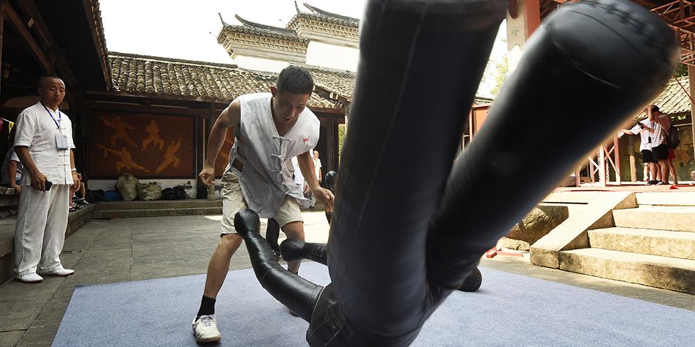 "Турнир по традиционному ушу ""Улиньмэнь"" в Ханчжоу"