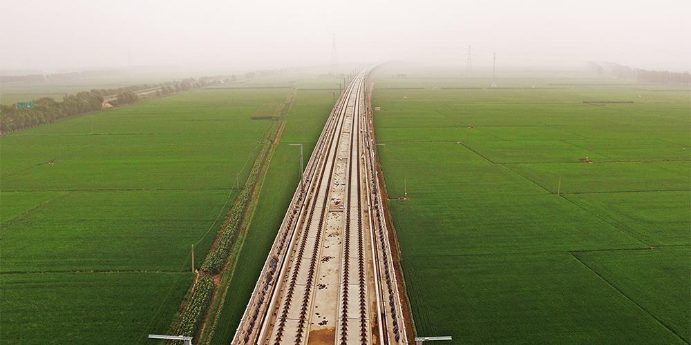 Строительство ляонинского участка железной дороги Пекин — Шэньян