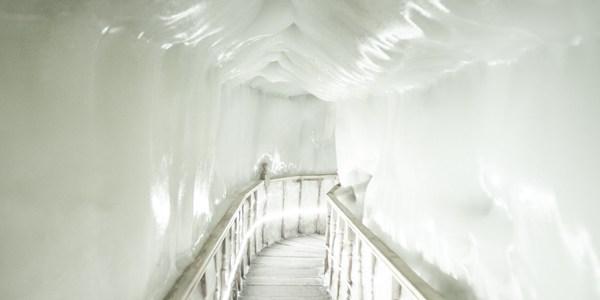 Ледяная пещера в провинции Шаньси