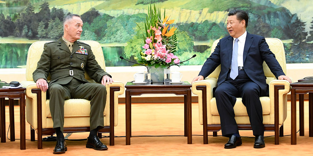 Си Цзиньпин встретился с председателем КНШВС США