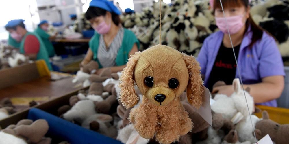 Игрушечное производство как фактор экономического роста уезда Шанцай