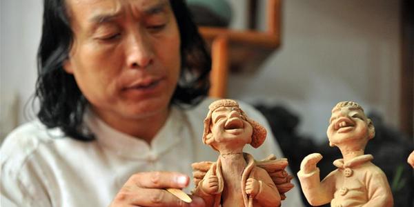 Глиняная скульптура из провинции Ганьсу: прошлое и настоящее народного промысла