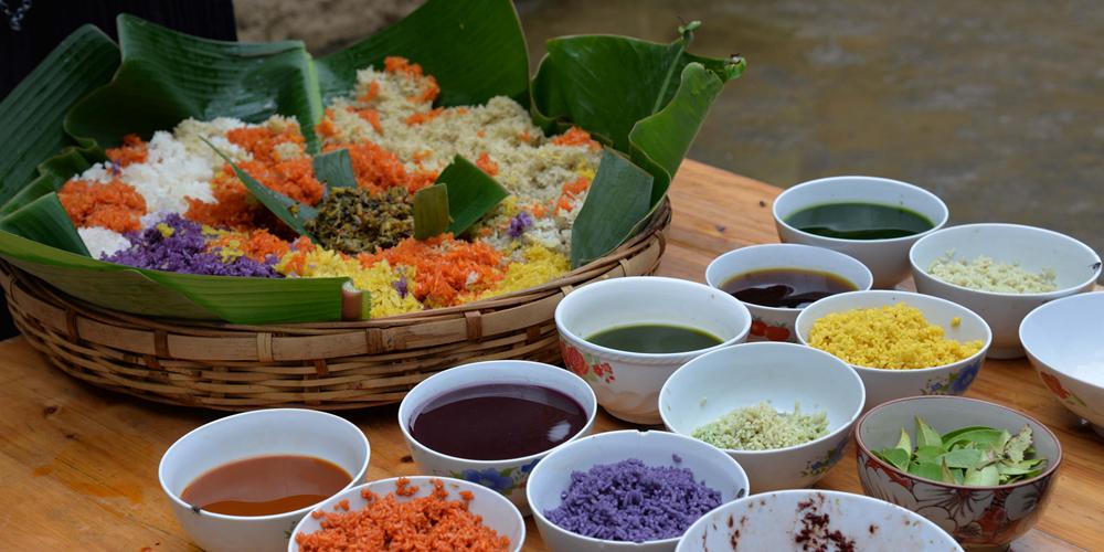 Разноцветный рис — символ благополучия