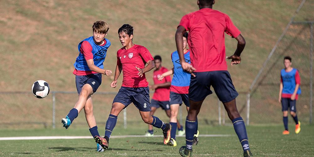 Спортивное сотрудничество в рамках БРИКС — Первая китайская заграничная тренировочная база для молодежных футболистов