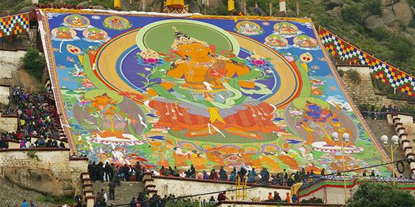 В Лхасе отмечается традиционный праздник Шотон