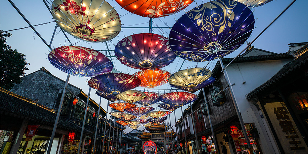 В древнем городке Чжоучжуан пройдет фестиваль фонарей двух берегов Тайваньского пролива