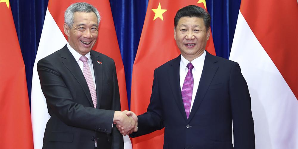Си Цзиньпин встретился с премьер-министром Сингапура