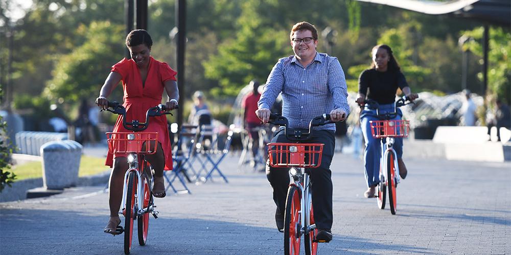 Китайские велосипеды Mobike добрались до США