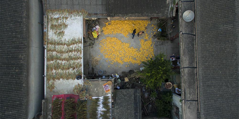 Старинная деревня Байшипо в провинции Хэнань