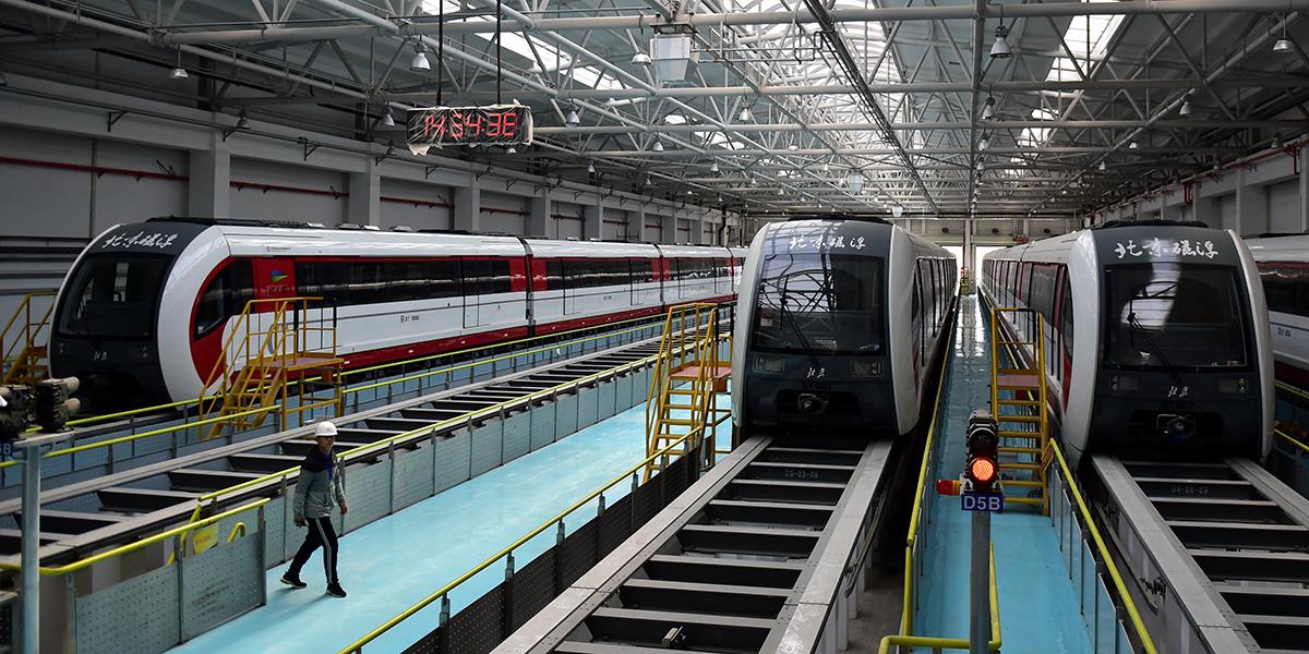 Первая в Пекине маглев-линия скоро будет пущена в тестовую эксплуатацию