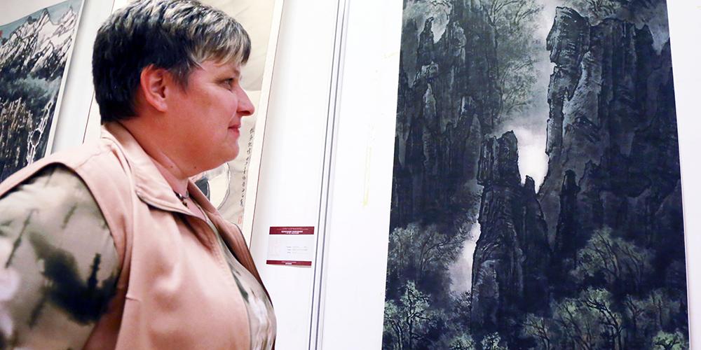 В Вене проходит выставка в честь 110-летия со дня рождения китайского художника Ли Кэжаня