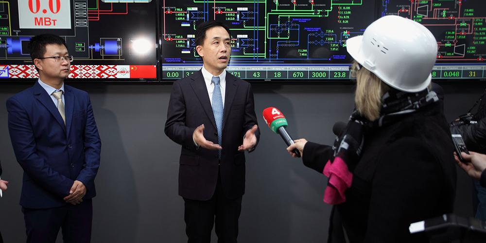 В Беларуси состоялось торжественное открытие Гомельской ТЭЦ-1, в реконструкции которой участвовала китайская компания