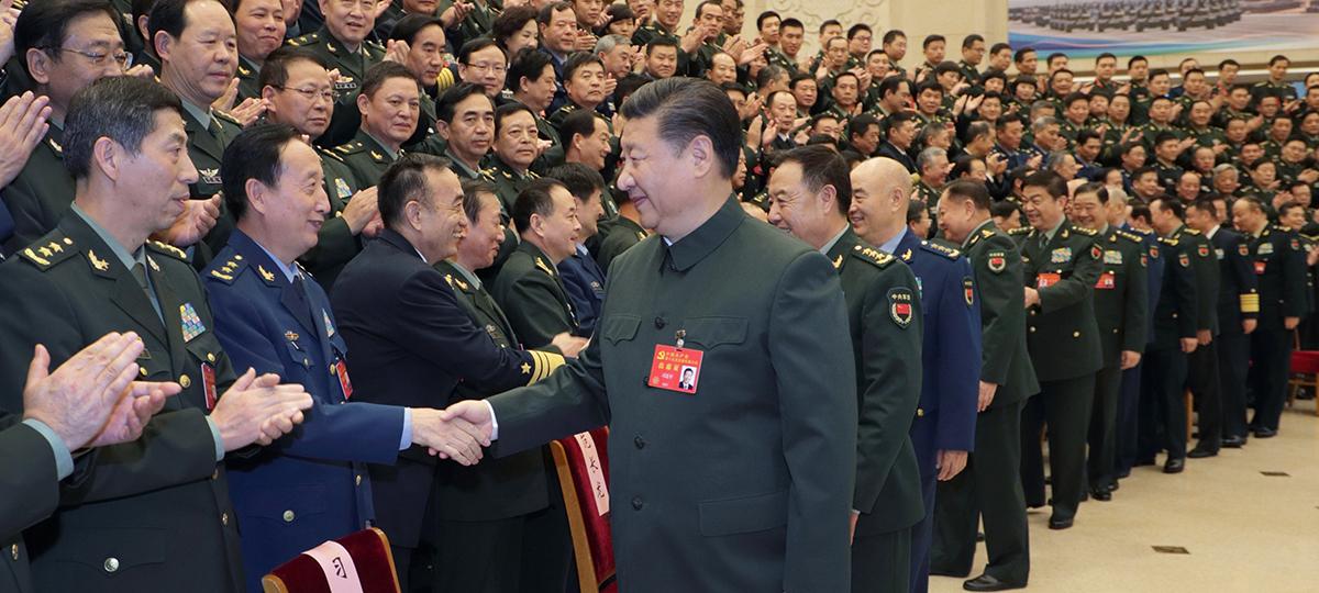 Си Цзиньпин призвал к формированию сильной армии
