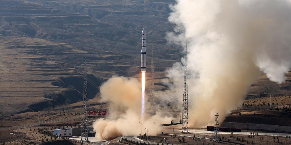 """В Китае успешно запущены три спутника в рамках проекта """"Цзилинь-1"""""""