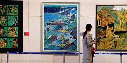 В Сямэне открылась Китайская выставка лаковой живописи-2017