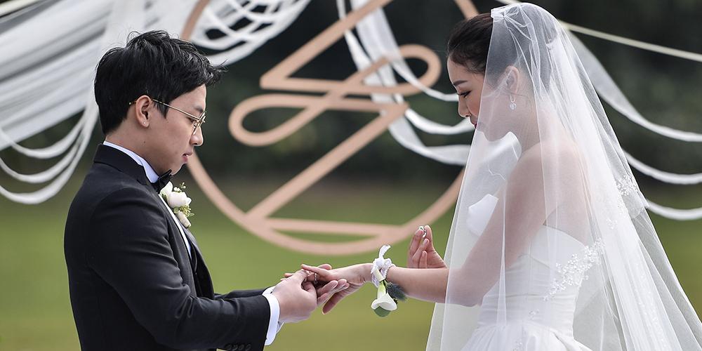 Бракосочетание Цзоу Кая и Чжоу Цзе
