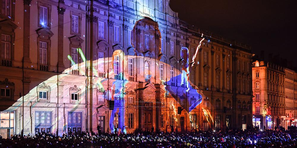 Фестиваль света во французском городе Лион