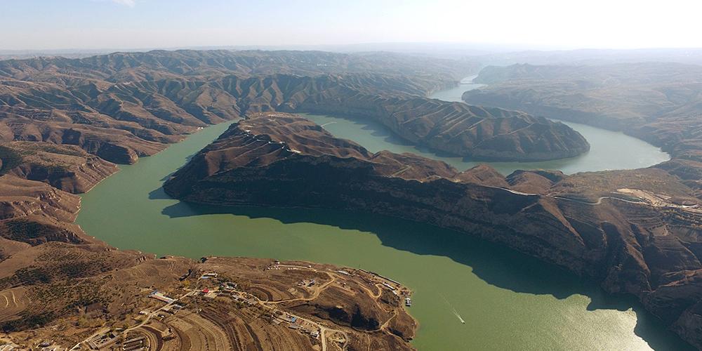 Извилистая долина реки Хуанхэ