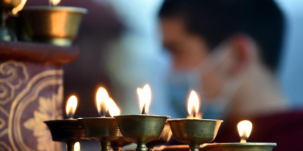 В Лхасе отметили праздник Гадань-нгачог