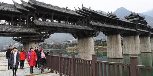 Древний городок Чжошуй на юго-западе Китая