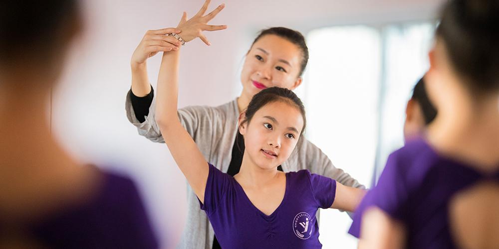 Танцевальные занятия в АР Внутренняя Монголия