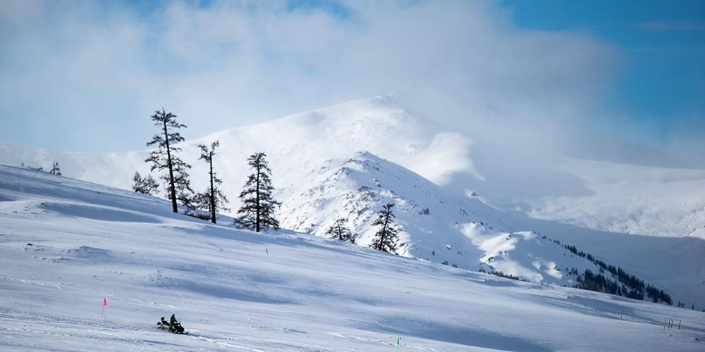 """Катание по натуральному снегу на """"родине лыж"""""""