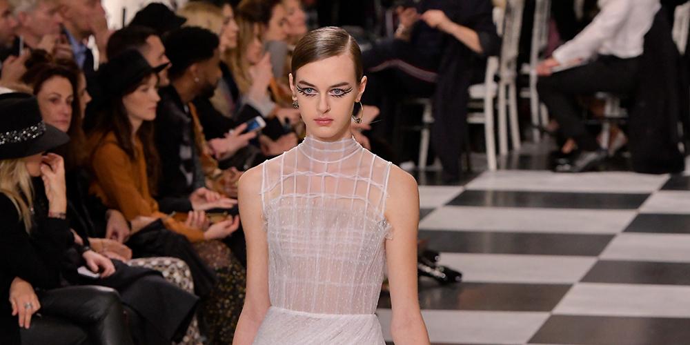 Неделя моды в Париже: показ коллекции Кристиан Диор весна-лето 2018 года