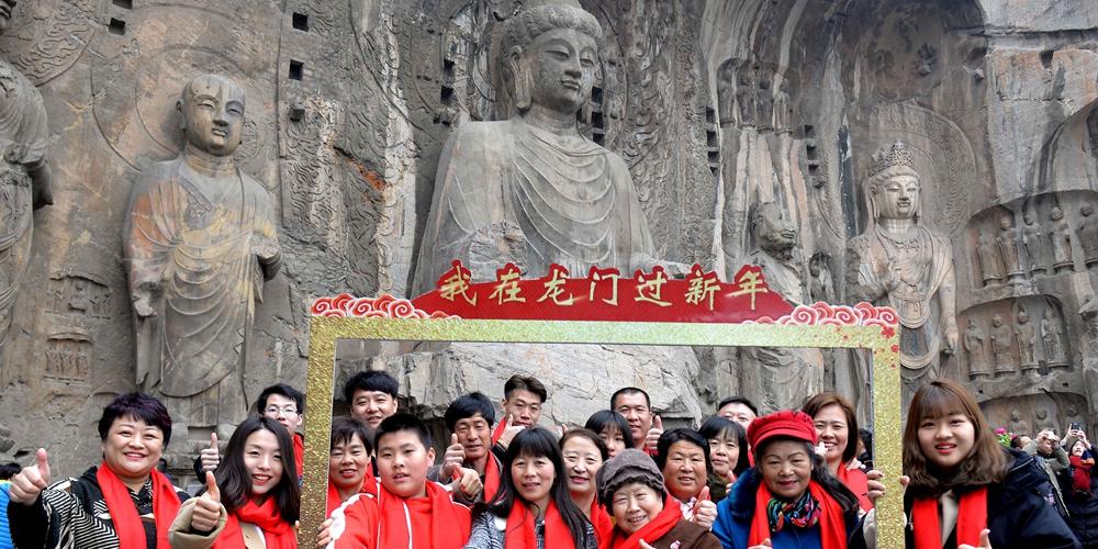 Китай продолжает праздновать Новый год
