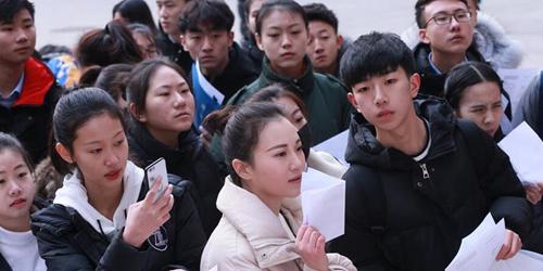 В пекинском Центральном театральном институте начались вступительные экзамены