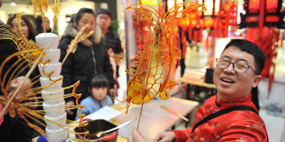 Храмовая ярмарка нематериального культурного наследия в Жэньцю