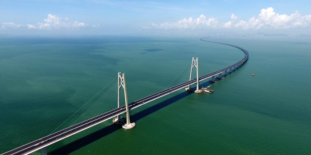 Мост Сянган-Чжухай-Аомэнь — фотохроника проекта