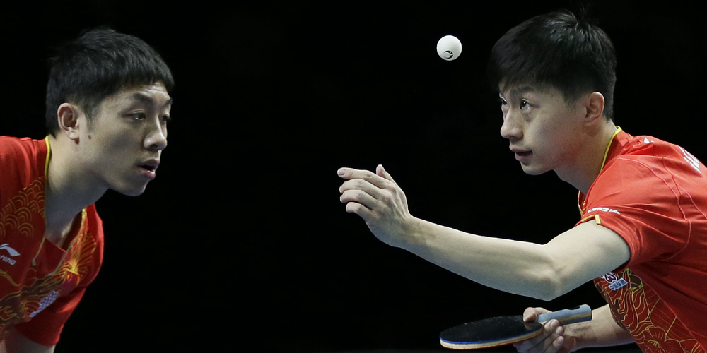 Мужская команда Китая вышла в финал командного Кубка мира по настольному теннису