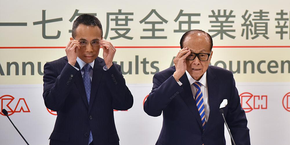 Сянганский магнат Ли Цзячэн уходит в оставку и передает дела старшему сыну