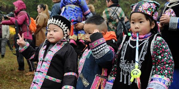 "Традиционный праздник мяосцев ""Цзицяоцзе"" отметили в Гуйчжоу"