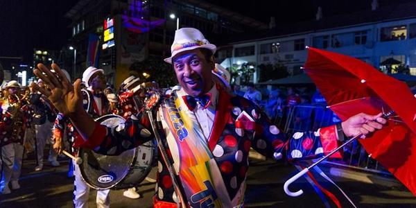 """""""Китайское настроение"""" карнавала в Кейптауне"""