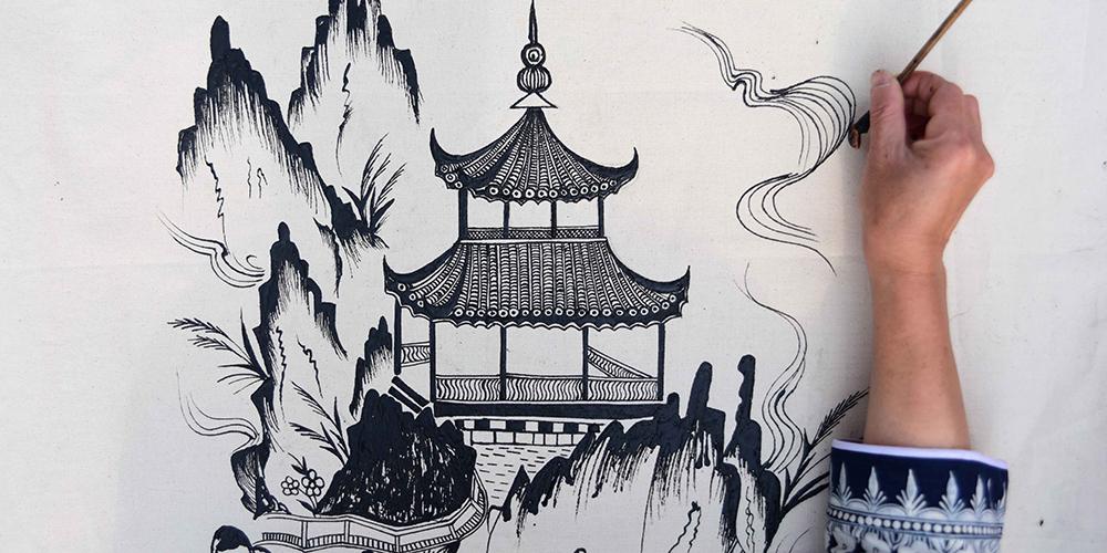 Конкурс искусства народности мяо в уезде Даньчжай